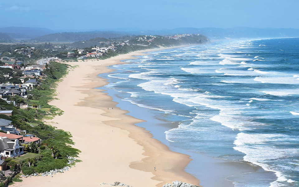 Küste von Südafrikas