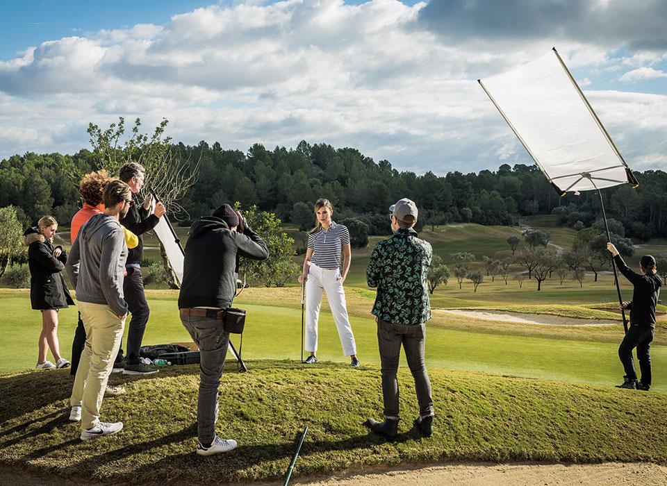 Fotoshooting Golfplatz