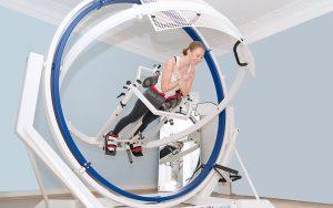 Training im Spacecurl