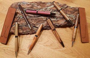 Kugelschreibe in edlen Holzarten
