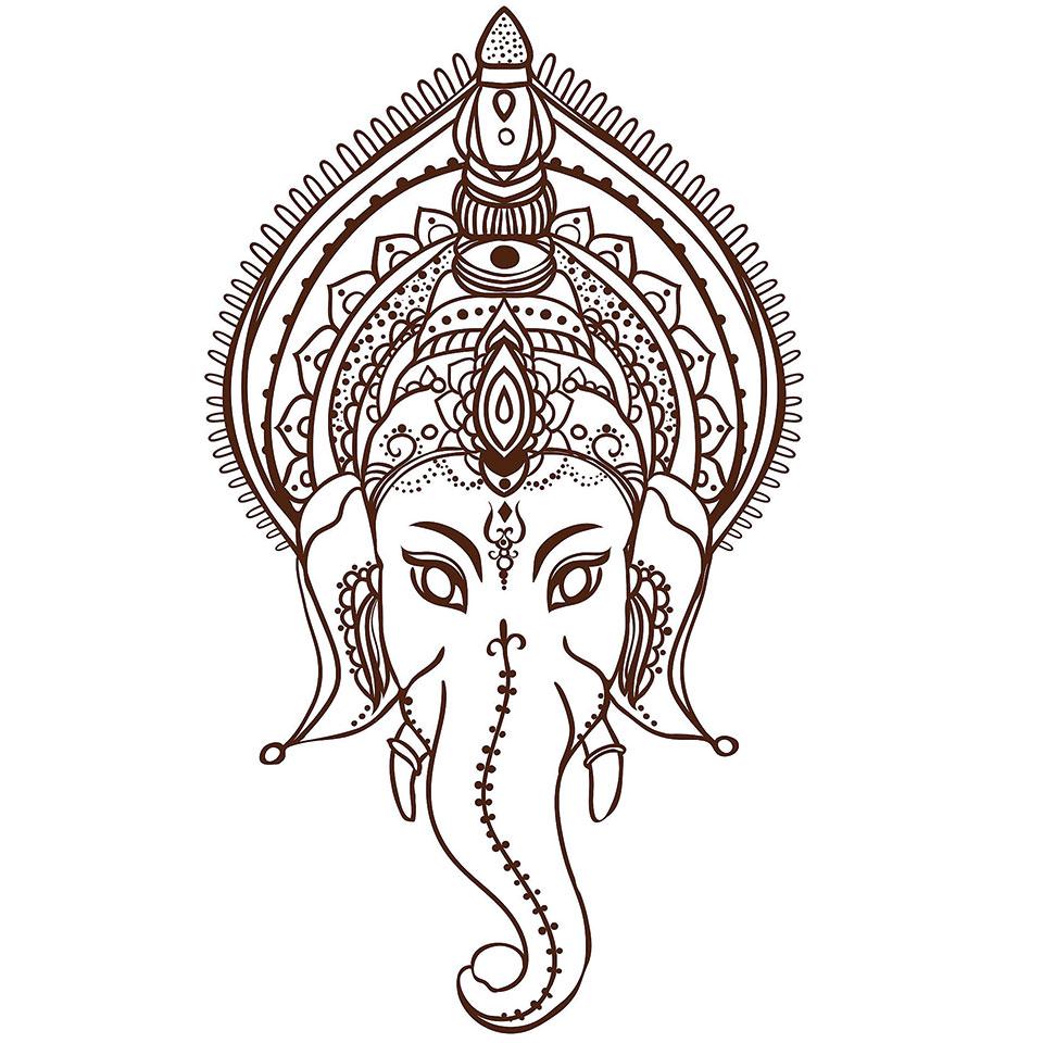 Symbol Ganesha