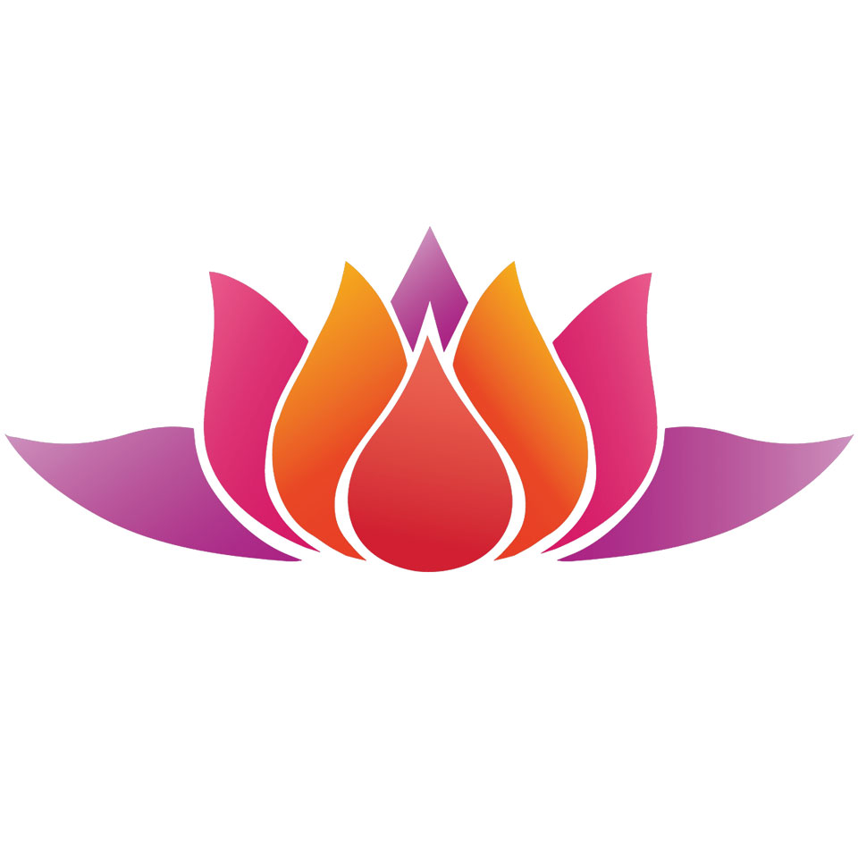 Symbol Lotusblume - Yoga