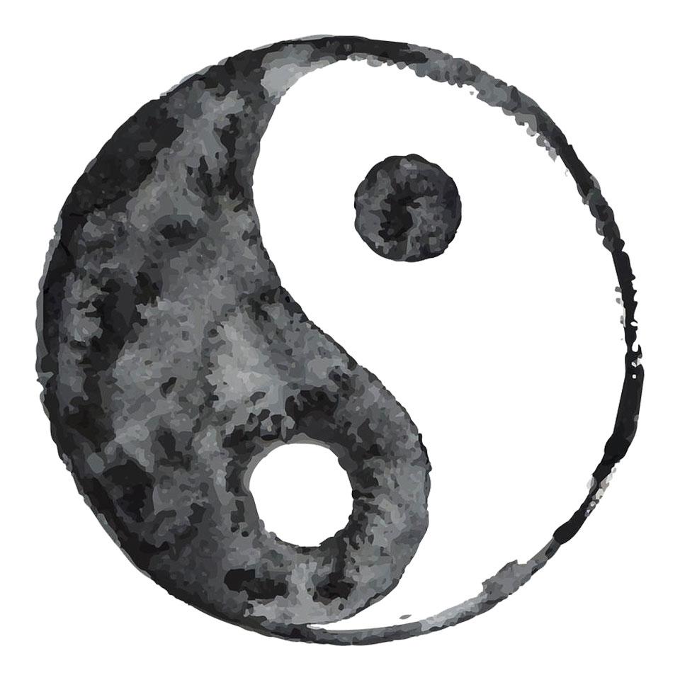 Symbol Yin und Yang