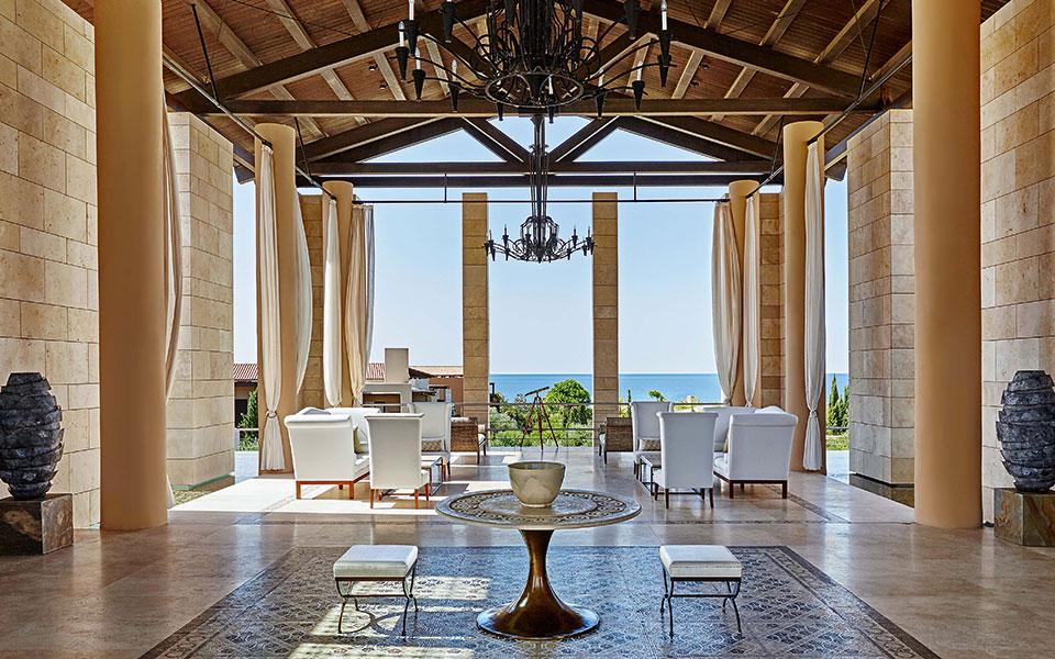 Lobby von The Romanos