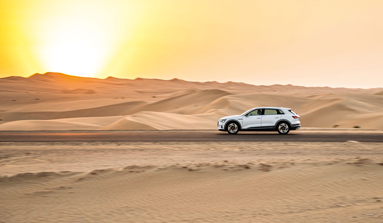 Audi e-tron Wüste