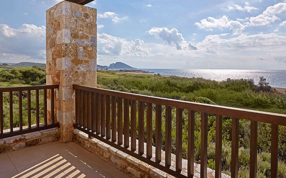 Costa Navarino Residences Aussicht