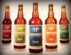 Hennings Brauerei Biere