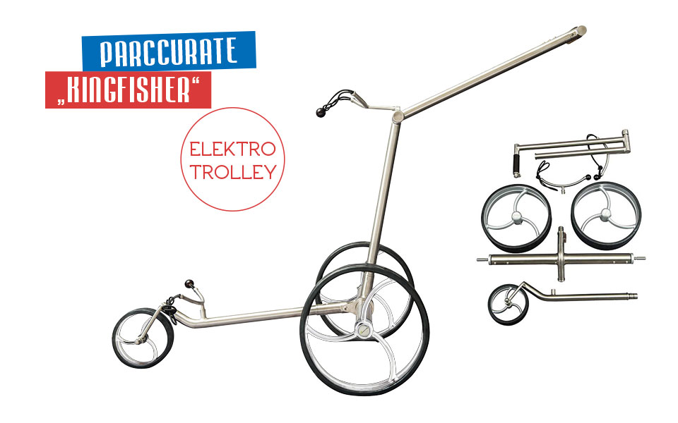 "Parccurate ""Kingfisher"" Elektrotrolley"