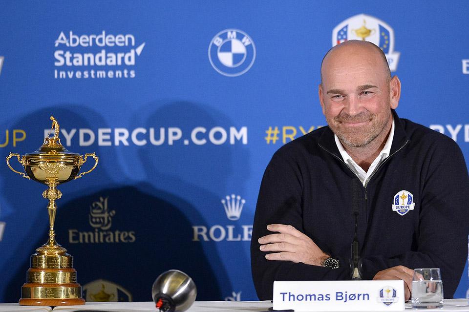 Thomas Bjorn BMW International Open