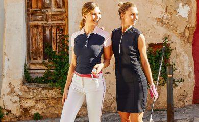 Damen in Golfmode
