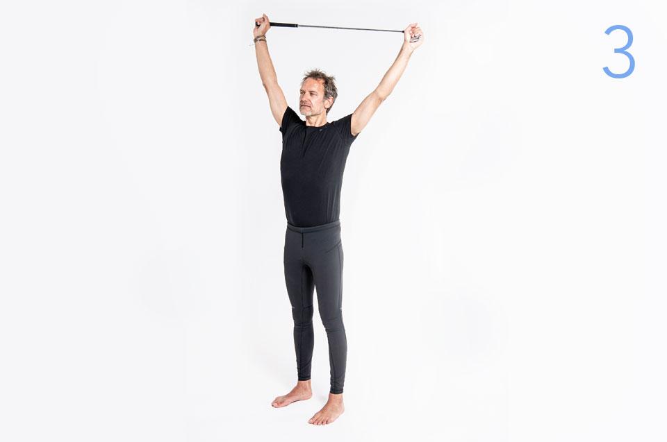 Step 3 - Pilates Teil 1: Schultern