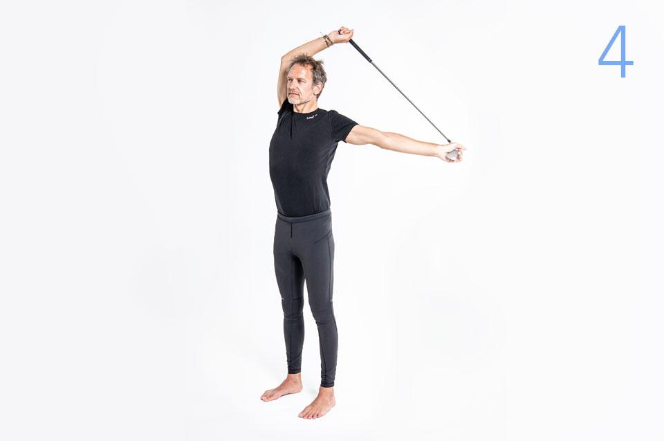Step 4 - Pilates Teil 1: Schultern
