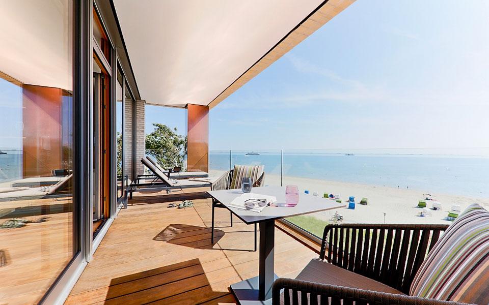 Balkon Suite Upstalsboom