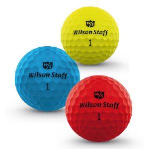 """Wilson Staff """"DX2 Soft Optix"""" Golfball"""
