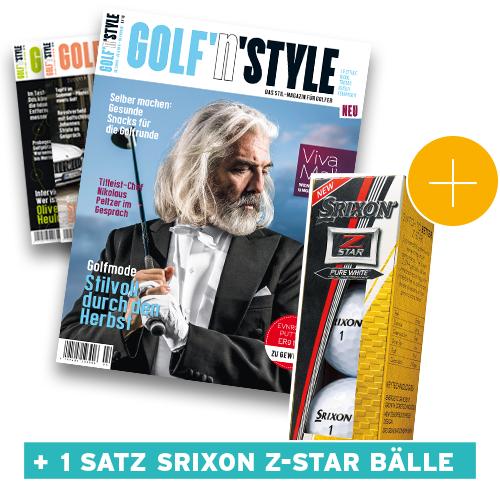 Golf'n'Style Abo mit 3 Ausgaben