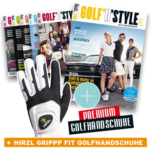 Abo 6 Ausgaben Golf'n'Style