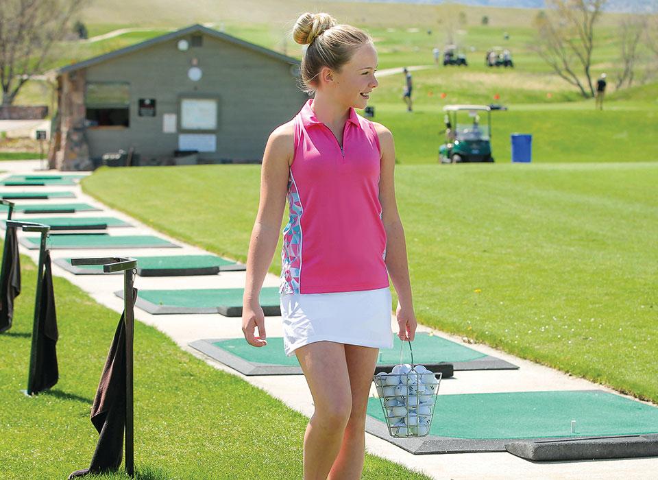 Garb Kinder-Golfmode