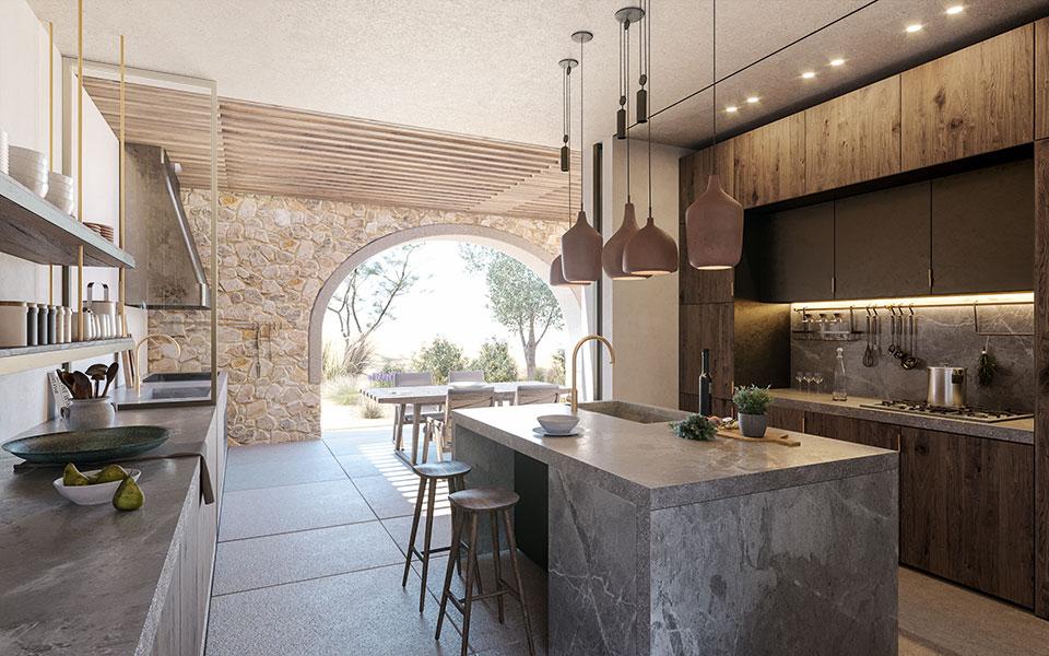 Costa Navarino Residences Küche