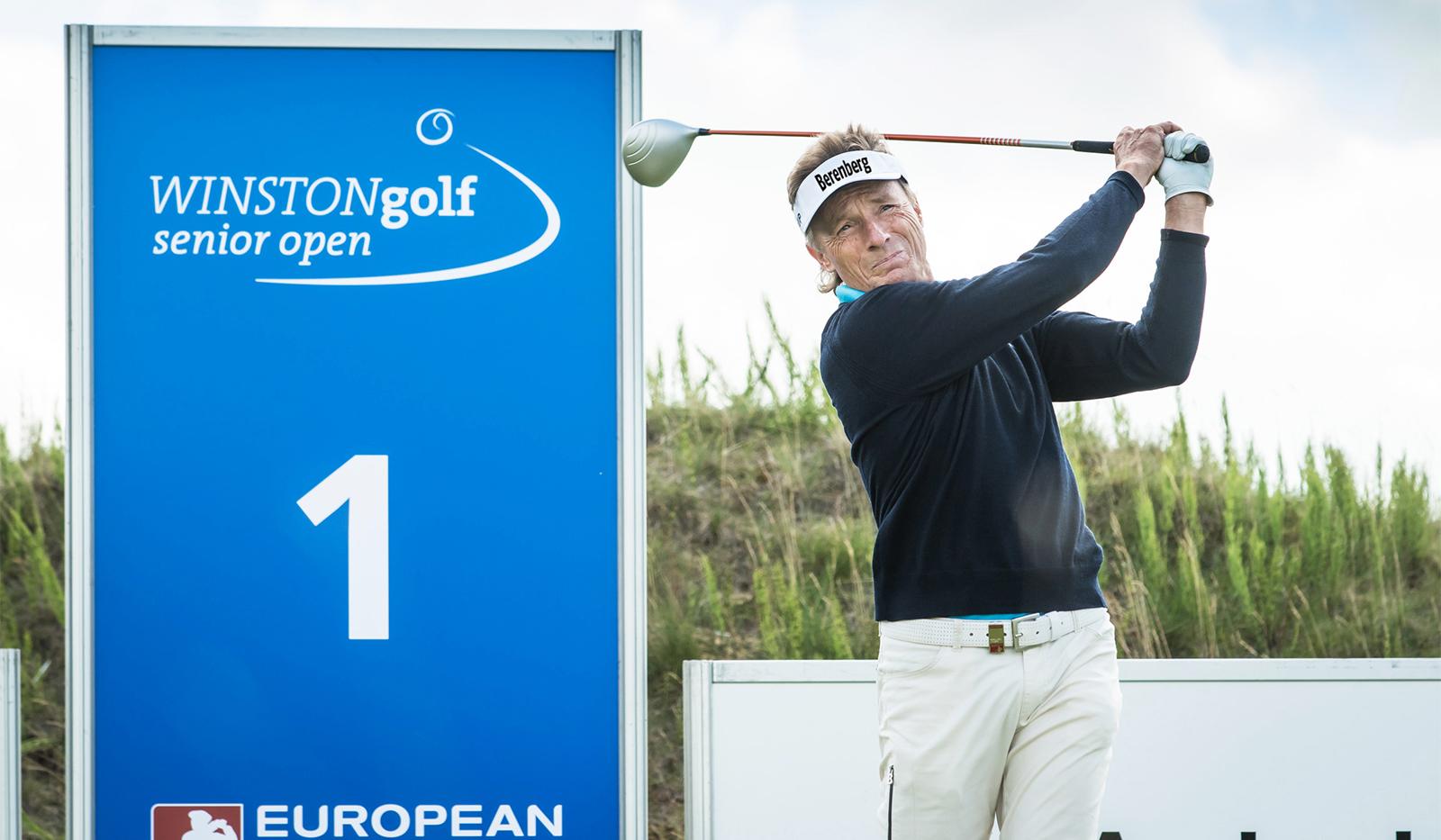Bernhard Langer live Winston Senior Open