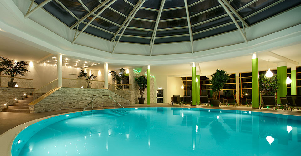 Thermalpool im Spa-BEreich des Hotels Fürstenhof