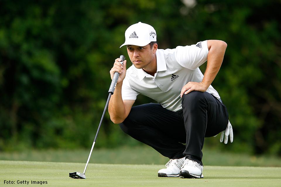 golfer knien Xander Schauffele