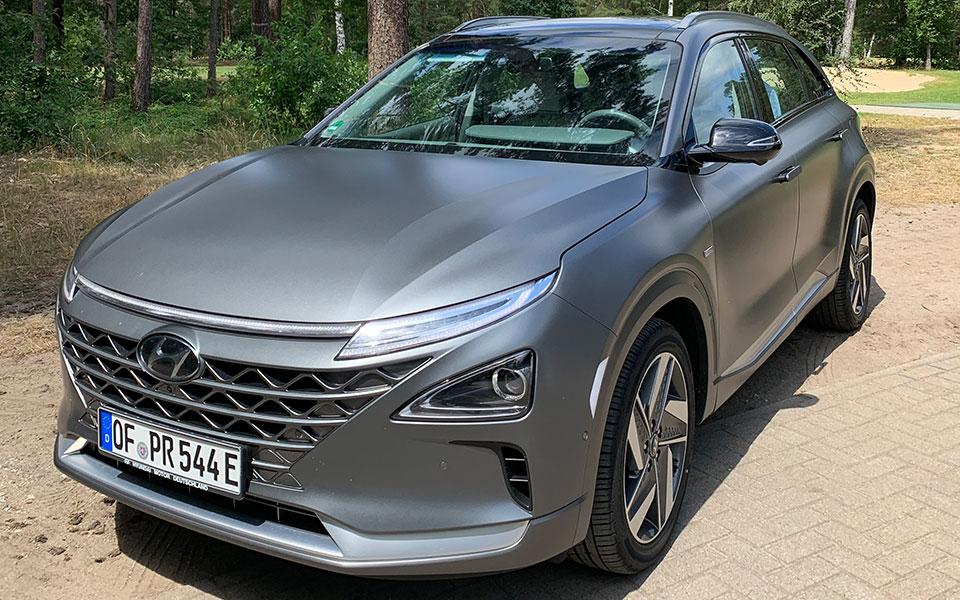 hyundai nexo aussenansicht - Pures Gefühl – Hyundai Nexo