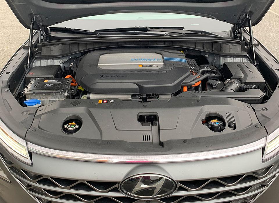 Motorraum Hyundai Nexo