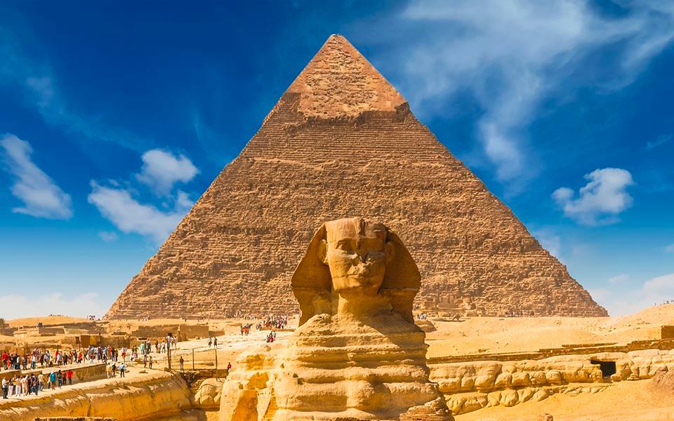 Pyramide Kairo