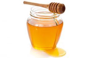 volles Honigglas