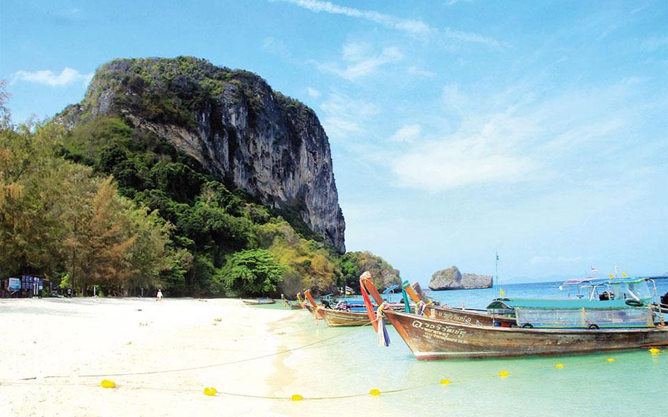 Ko Poda Beach Thailand