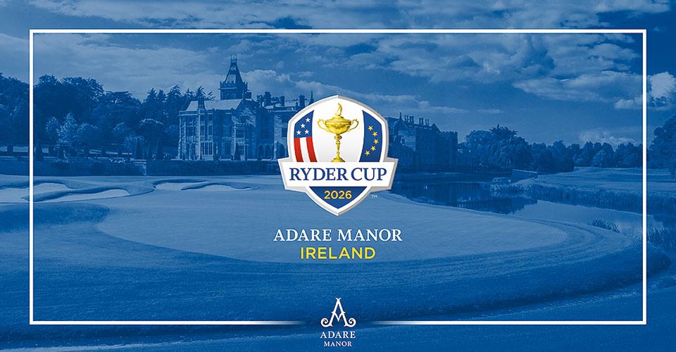 Logo Adare Manor Ryder Cup 2026