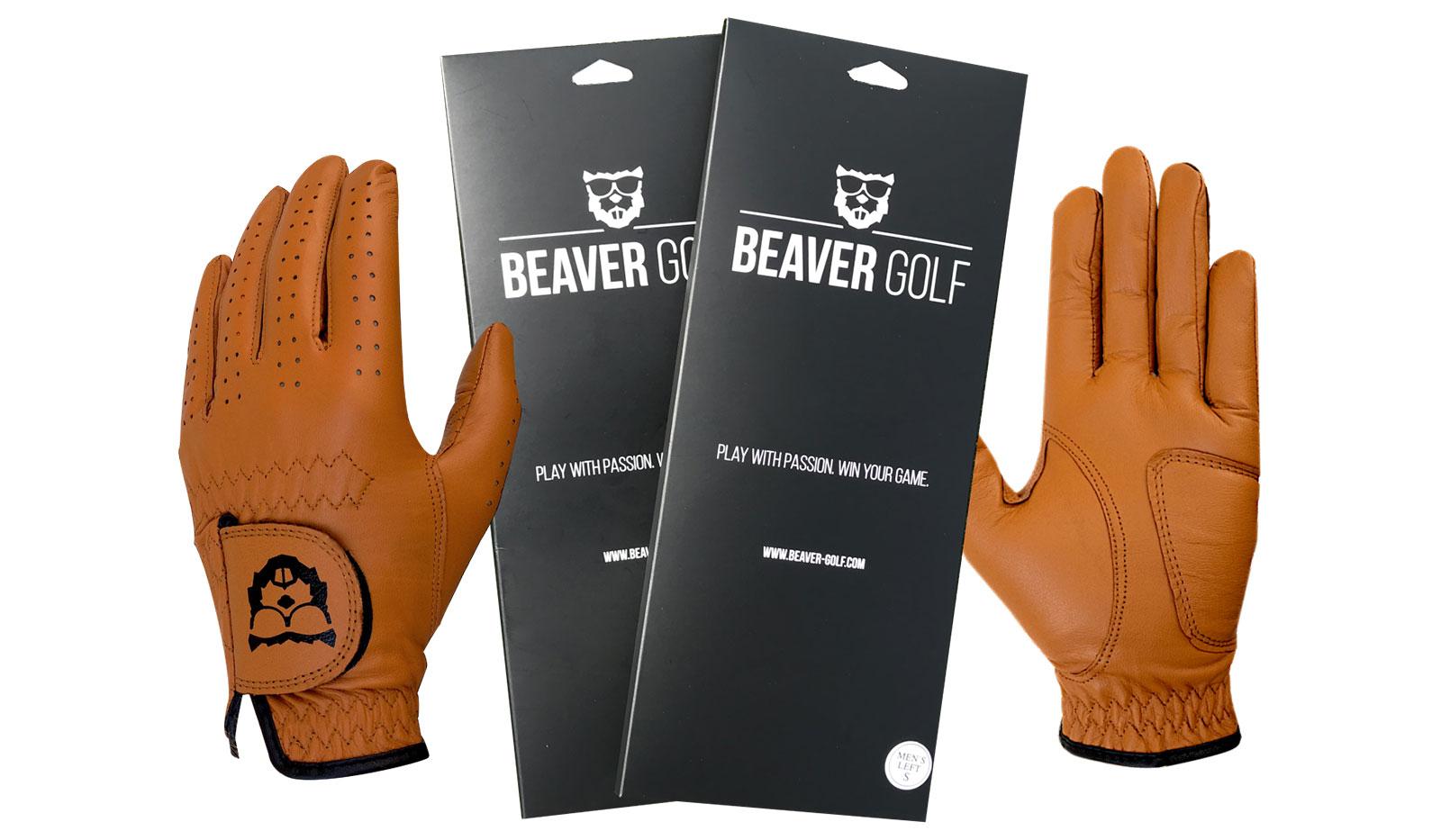 Beaver Gloves - Leder-Golfhandschuhe