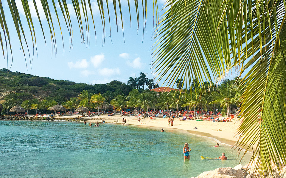 Bucht auf Curacao