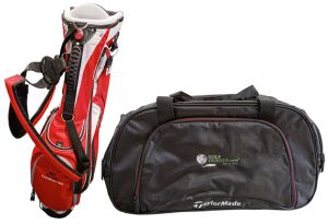 Cobra Golf Standbag und TaylorMade Shoebag