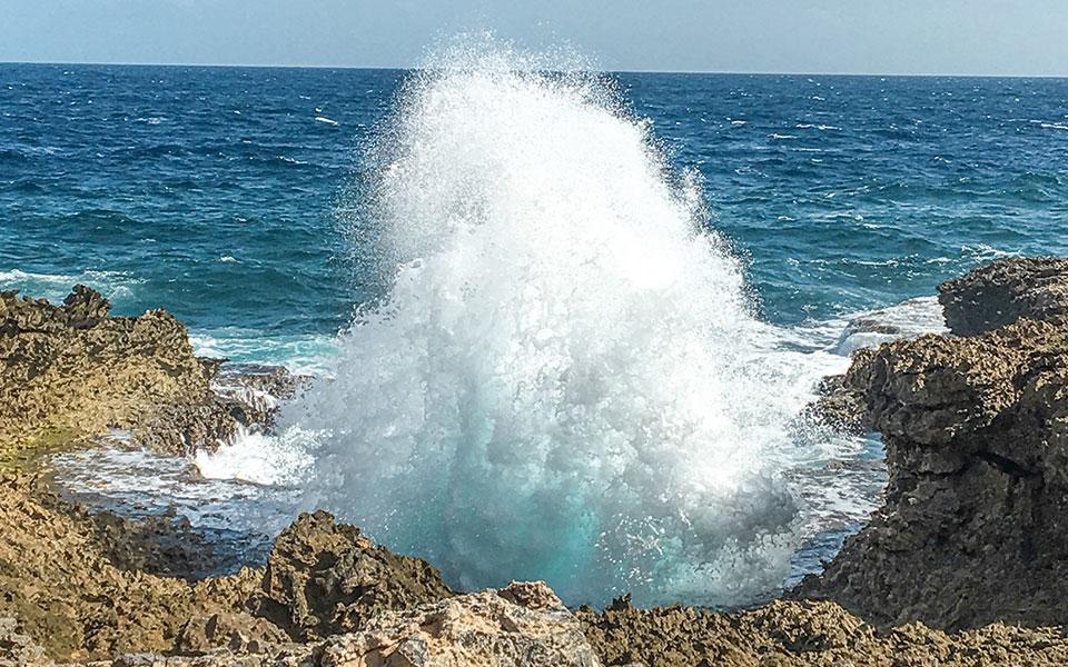 Küste Curacao
