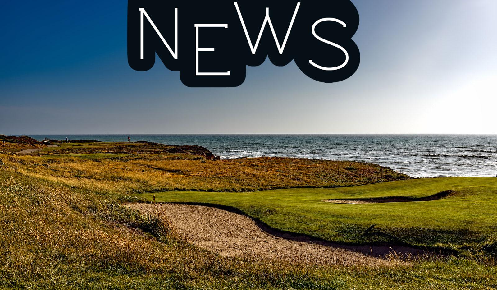 Golfplatz an der Küste