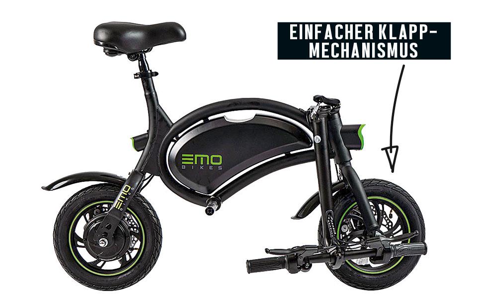 eMO Bike Klappsystem
