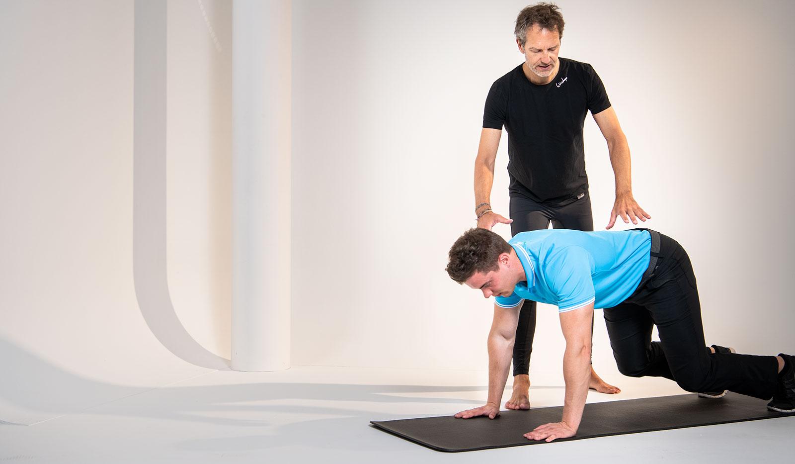 Pilates Hüft-Übung