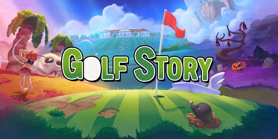 """Titelbild Golfspiel """"Golf Story"""""""