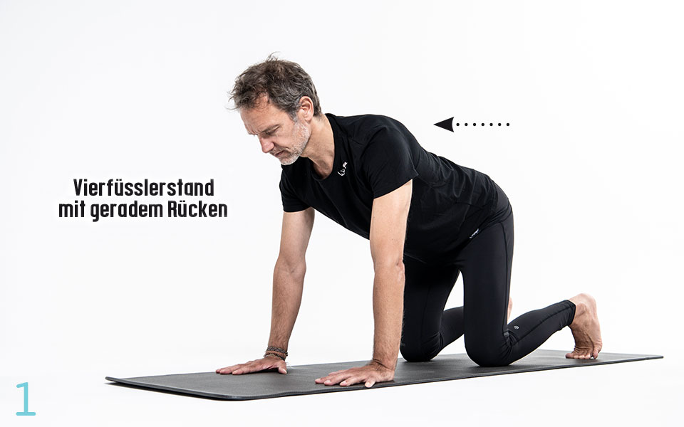 Pilates FlyingCat Step1 - Pilates Teil 3: Hüfte und Lendenwirbelsäule