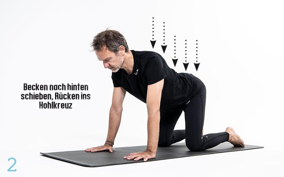 Pilates Huefte Step2 - Pilates Teil 3: Hüfte und Lendenwirbelsäule