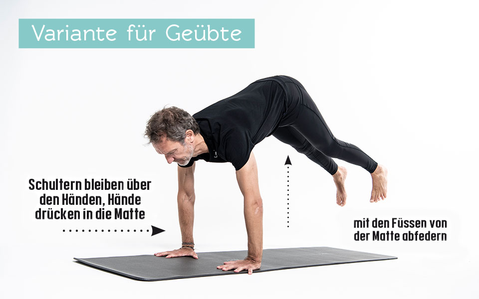 Pilates Übung Jumping Cat