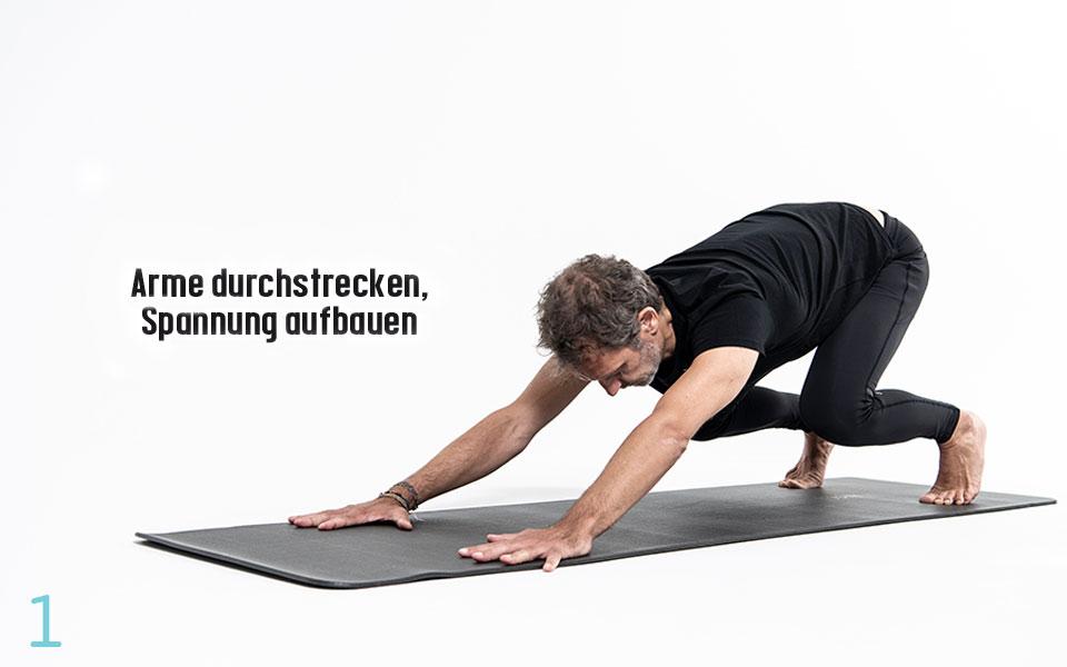 Pilates JumpingCat Step1 - Pilates Teil 3: Hüfte und Lendenwirbelsäule