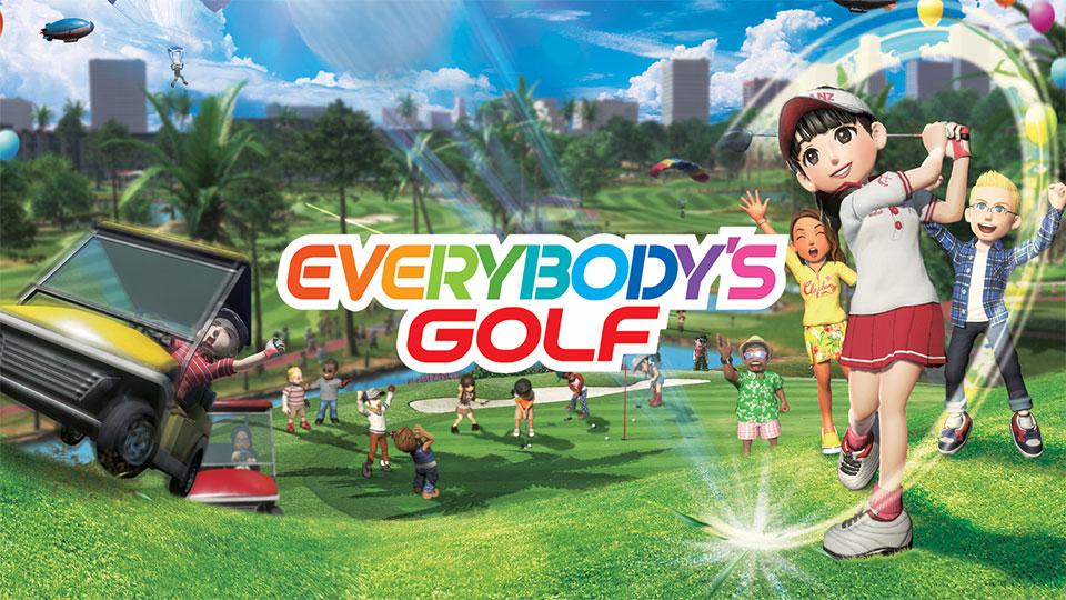 """Titelbild Golfspiel """"Everybody's Golf"""""""