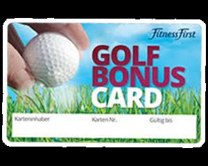 Golf Bonus Card