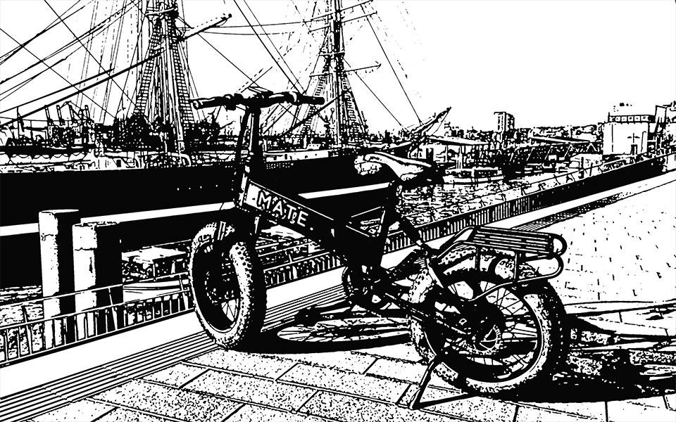 Illustration MateX Hamburger Hafen