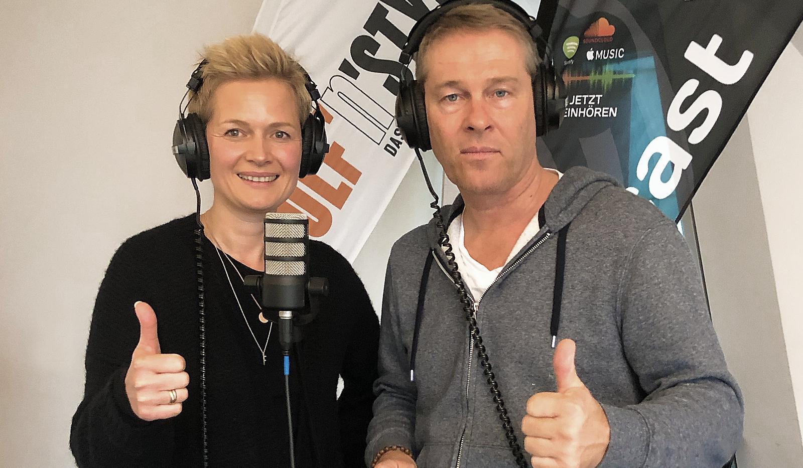 """Podcast Frauke und Hinnerk 2 - Unser neuer Podcast """"Grün & saftig"""""""