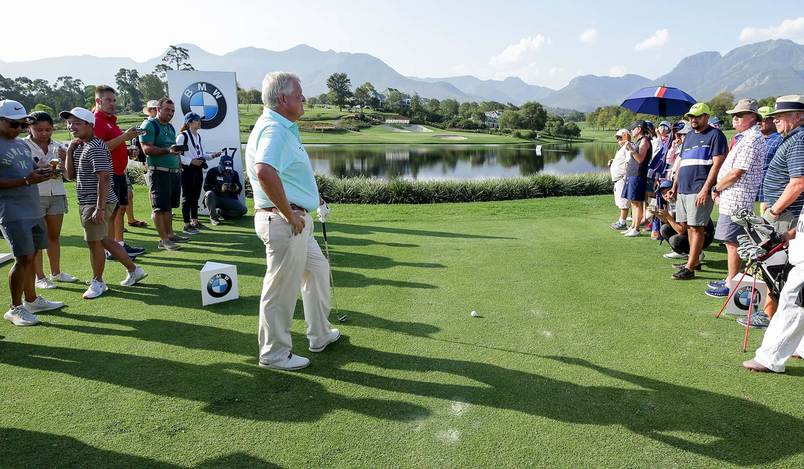 BMW Golf Cup International Weltfinale. Colin Montgomerie Golf Clinic