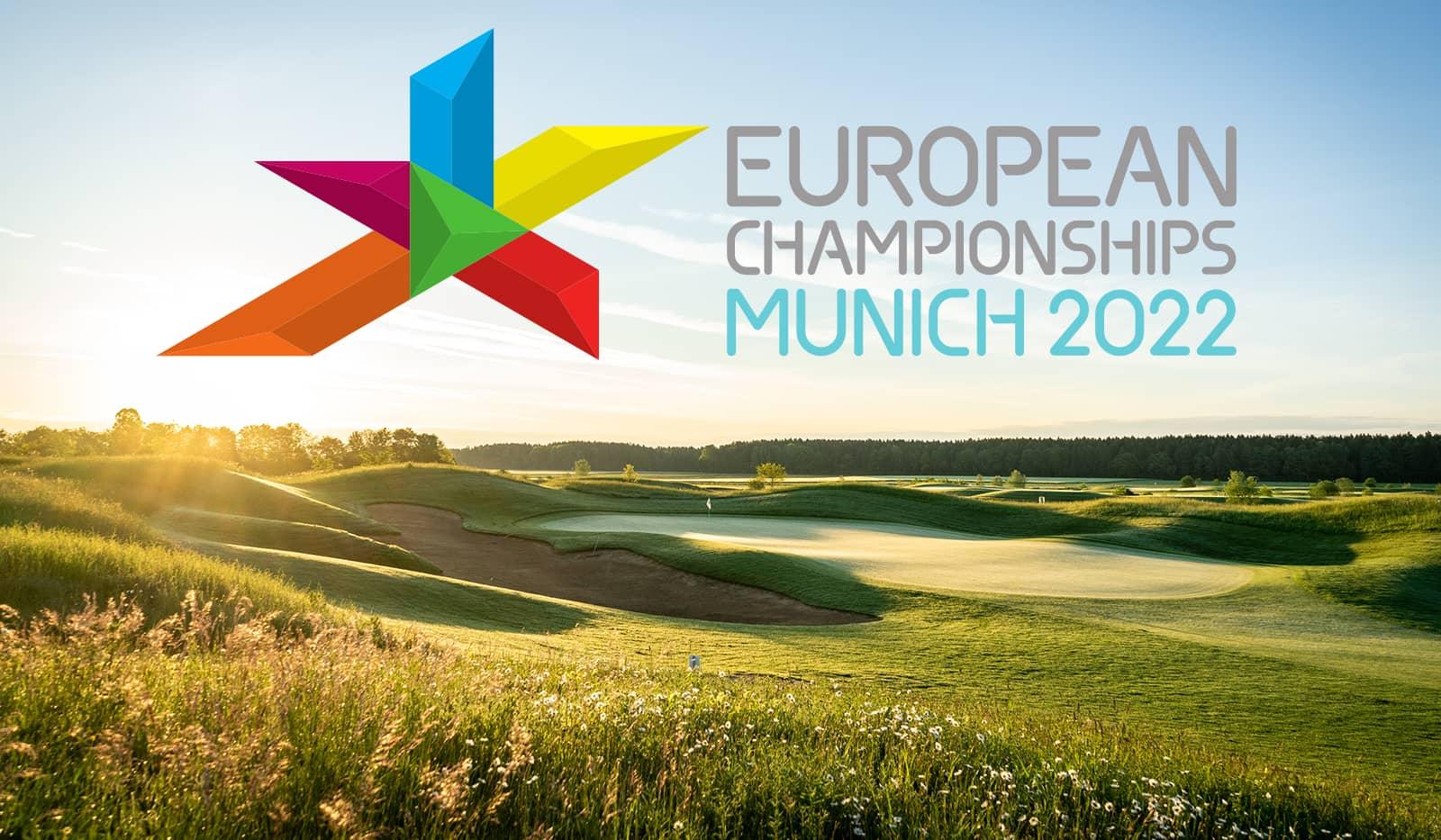 Golfplatz Golf Valley, Logo Golf-Europameisterschaften 2022