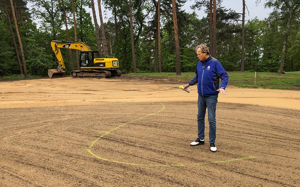 Golfplatz Bau